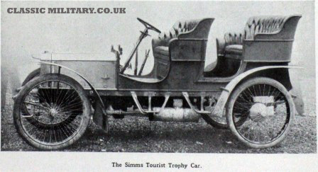 SIMMS TOURIST TROPHY CAR 1905